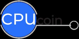 CPUcoin logo invert 11